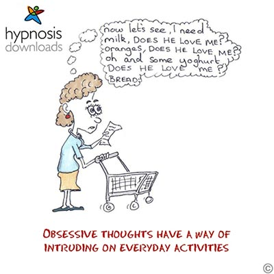 Obsessive Thoughts Cartoon