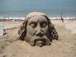 A creative beach activity!